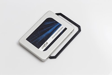 Crucial MX300 2TB Interne Festplatte SATA (7mm (mit 9,5mm-Adapter), 2,5Zoll) silver -