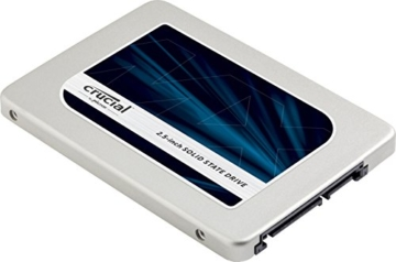 Crucial MX300 525GB Interne Festplatte (7-9,5 mm-Abstandhalter, 7 mm (2,5Zoll) SATA) silber -