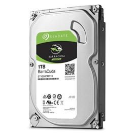 Seagate Barracuda 1 TB,ST1000DM010, interne Festplatte, 8,9 cm (3,5 Zoll), 64 MB Cache, SATA 6Gb/ -
