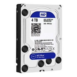WD Blue WD40EZRZ 4 TB Interne Festplatte (8,9 cm (3,5 Zoll), SATA 6 Gb/s (bulk)) -