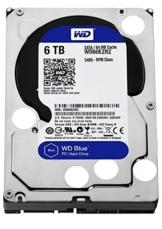WD Blue WD60EZRZ 6 TB Interne Festplatte (8,9 cm (3,5 Zoll), SATA 6 Gb/s (bulk)) -