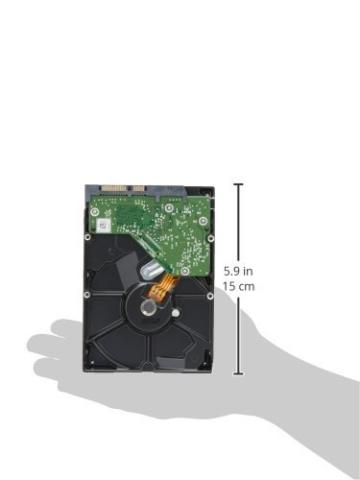 WD Red 1TB interne Festplatte SATA 6Gb/s 64MB interner Speicher (Cache) 8,9 cm 3,5 Zoll 24x7 5400Rpm optimiert für SOHO NAS Systeme 1-8 Bay HDD Bulk WD10EFRX -