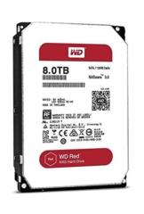 WD Red 8TB interne Festplatte SATA 6Gb/s 128MB interner Speicher (Cache) 8,9cm 3,5Zoll 24x7 5400Rpm optimiert für SOHO NAS Systeme 1-8 Bay HDD Bulk WD80EFRX -